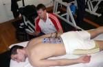 Training mit Compex Sport (elektrische Muskelstimulation)